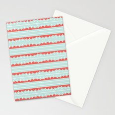 Spots and Strips Stationery Cards