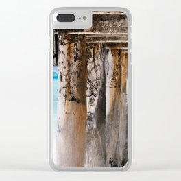 African Pier Clear iPhone Case