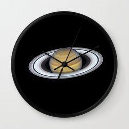 Portrait of Saturn Wall Clock