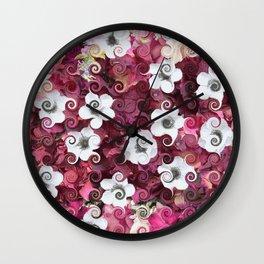 The Flower Dance Wall Clock