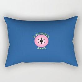 E Pluribus Anus Rectangular Pillow