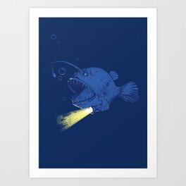 I GOT A NEW LIGHT!!!!!!!  Art Print