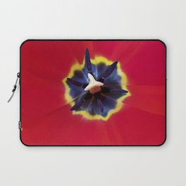 Seeing red (at tulip time) Laptop Sleeve