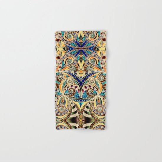 Drawing Floral Zentangle G240 Hand & Bath Towel
