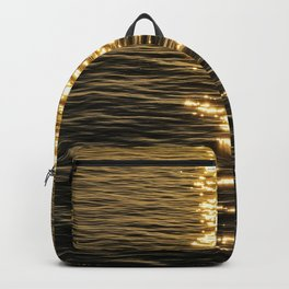 Dancing Light on Water Backpack