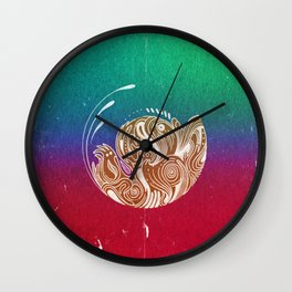 What Tomorrow Might Bring Wall Clock