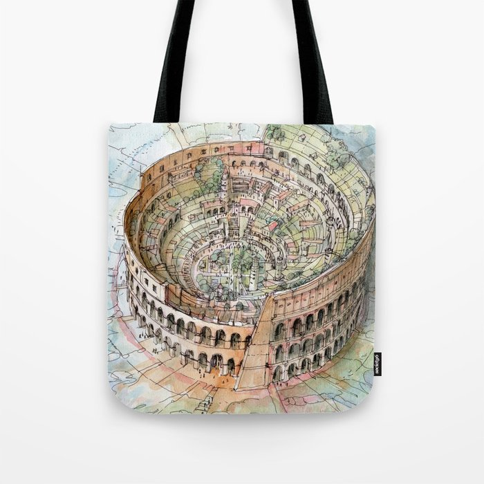 The Colosseo City Tote Bag