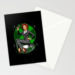 X-Philes Pin-Up Stationery Cards