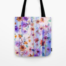 Floral Ombre  Tote Bag