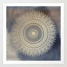 DESERT SUN MANDALA Art Print