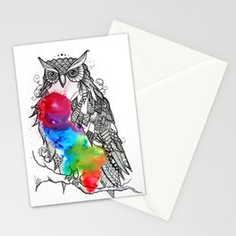Owl love you always Stationery Cards