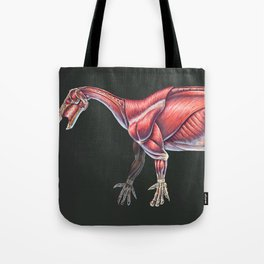 Iguanodon Bernissartensis Muscle Study (No Labels) Tote Bag