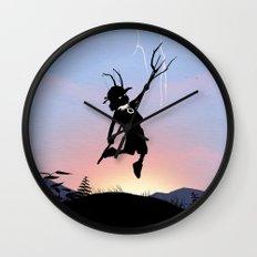 Loki Kid Wall Clock