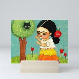The Cat Rescue! Mini Art Print