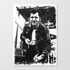 Greaser Johnny Canvas Print