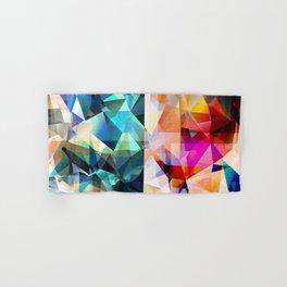 Colorful Geometric Abstract Hand & Bath Towel