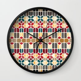 Budapest Voronoi Wall Clock
