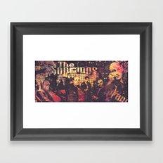 The Sopranos (in memory of James Gandolfini) Framed Art Print
