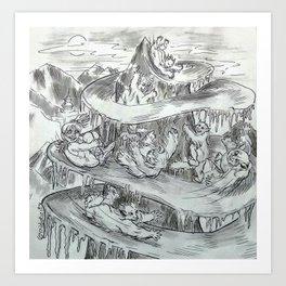 Yetislide Art Print