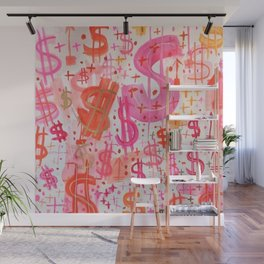 Barbie Money Wall Mural