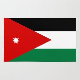 Jordan country flag Rug