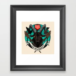 Black Phillip (The Witch) Framed Art Print