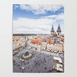 Old Town Square in Prague Poster