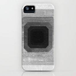 metal polygon iPhone Case