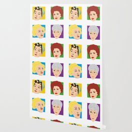 Coronation Street - Hilda, Elsie, Annie and Blanche Wallpaper