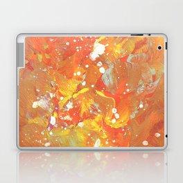 Orange Galaxy Fire Laptop & iPad Skin