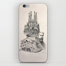 Tribute to Gaudi iPhone Skin