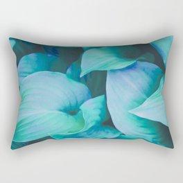 Leaf Me Alone #society6 Rectangular Pillow