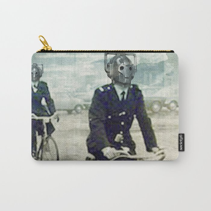 Cybermen on bikes Carry-All Pouch