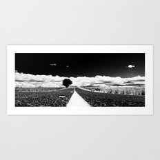 Oregon Highway Art Print