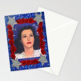 Ziegfeld Girl - Hedy Lamarr - Screen Siren  Stationery Cards