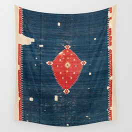 Balikesir  Antique Turkish Kilim Rug Print Wall Tapestry