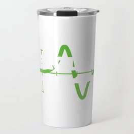 """Hearty Math Mathematics For Amazing People """"Calculus Actually, It Is Rocket Science"""" T-shirt Design Travel Mug"""
