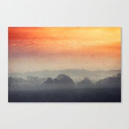 I burn for you Canvas Print