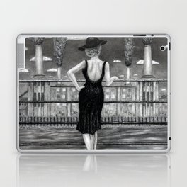 untitled - charcoal drawing Laptop & iPad Skin