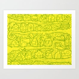 #MoleskineDaily_52 Art Print