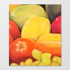 Fruit - Pastel Illustration Canvas Print