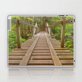 Forest Track Bridge Laptop & iPad Skin
