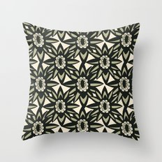 Modern Florals Throw Pillow