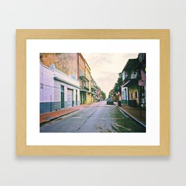 To Miss New Orleans Framed Art Print