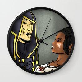 Ondolemar and Dragonborn. Wall Clock