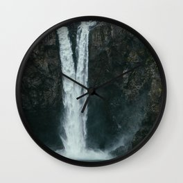 Snoqualmie Falls Wall Clock