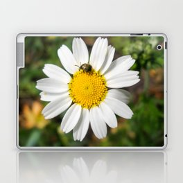 Magic Field Summer Grass - Chamomile Flower with Bug - Macro Laptop & iPad Skin