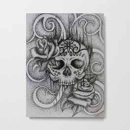 The Beautiful Dead Metal Print