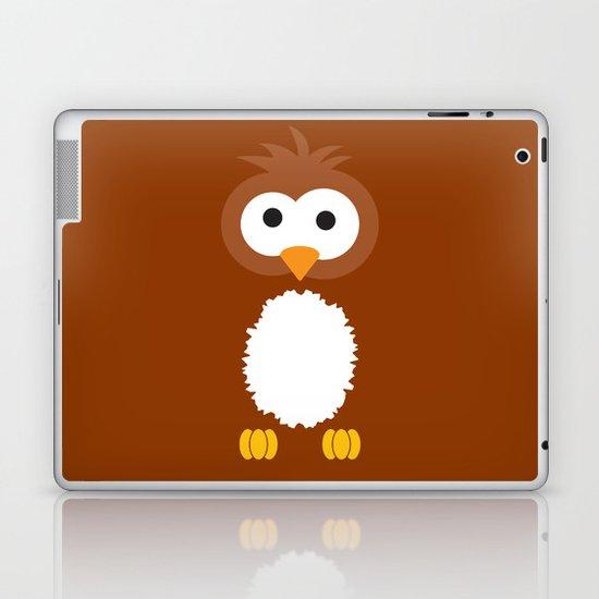 Minimal Owl Laptop & iPad Skin