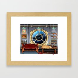 DW-032 Nautilus Dreams-First State Framed Art Print